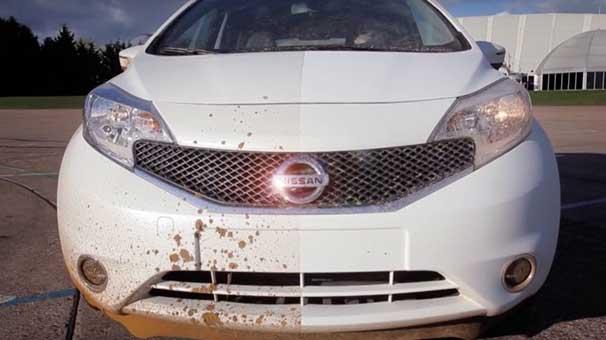 Nissan Kendini Temizleyen Araba Yaptı